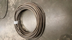 Fuel line hose.#8 and # 10 sizes Stainless Wire Braid PTFE.