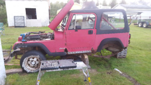 Parting out 95 jeep yj