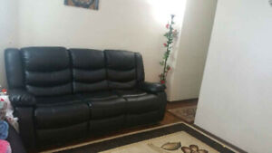 *** Urgent Moving Sale *** Double Reclining Sofa/ two Sets