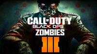 Call of duty black ops 3 online zombies xbox 360