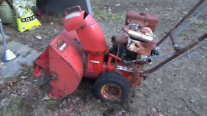 Looking for unwanted SNOWBLOWER i will pick them up for free