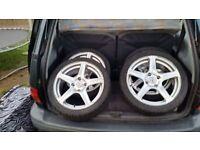 Fox alloy wheels