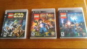 PS3 Games Bundles $120 for 10 games or prices as listed