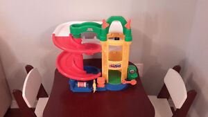 Fisher Price house, farm and garage