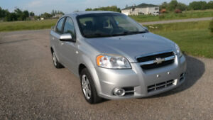2008 CHEVROLET AVEO, CLEAN TITLE, SAFETIED, LOADED, AUTOMATIC.