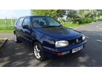 VOLKSWAGEN GOLF CL - FULL AUTOMATIC - 12 MONTHS MOT 1996 Auto 83013 Petrol Blue