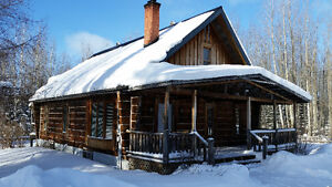 Log Home in Idyllic Country Setting only Minutes to Matheson, ON
