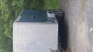 7ft x 14ft aluminum enclosed cargo trailer