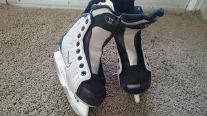 Boys Nike hockey skates 13 London Ontario image 1