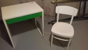 Office Desk/table and chair - IKEA - OBO