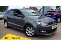 2014 Volkswagen Polo 1.2 70 Match Edition 5dr Manual Petrol Hatchback