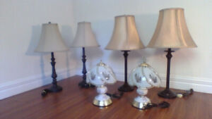 Pairs of Lamps $25 / set (30 day guarantee)  WOW !