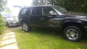 2002 Dodge Durango RT 183,500km AS IS
