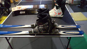 Rossignol Ski Package with 2 sets of Nordica Boots