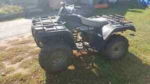 2002 arctic cat 250 with papers up for trade