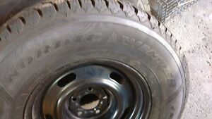 Goodyear Nordic Winter Tires on Rims $450 or BO Cambridge Kitchener Area image 2