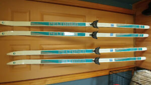 Womens Peltonen Cross Country Skis, Poles and Boots  $35