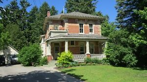 Victorian Gothic Brick Home on Large Private Lot  ORANGEVILLE