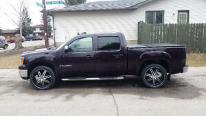 24 inch rims and tires gmc chev Toyota 6 bolt