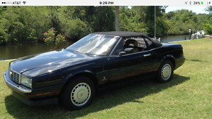 SUPER RARE CADILLAC ALLANTE 2 DOOR CONVERTIBLE, DRIVES LIKE NEW