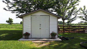 10×12 feet shed for sale. $1800