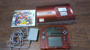 OBO Great Condition Omega Ruby 2DS with Super Smash Bros.