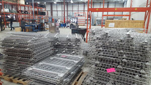 Grillages pour rack. Grilles for pallet racking presque neuf Kitchener / Waterloo Kitchener Area image 2