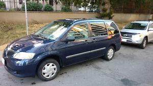 Mazda MPV Minivan: Certified, E-Tested, 150,528 km, No Accidents