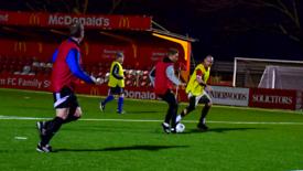Over 30's football in Hemel Hempstead