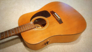SOLD - Seagull S6 Acoustic Electric Guitar - $150