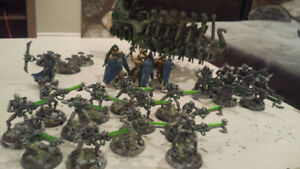 Fully Painted NECRON Lot - Warhammer 40k