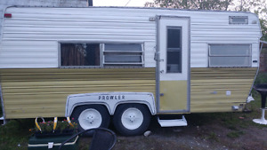 Freshly painted 1973 prowler camper. Immaculate shape no leaks