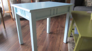 Baby Blue Occasional Table