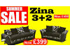 There's a huge range of sofas - Each sofa guaranteed for 12 months - Free pouffe Hertford