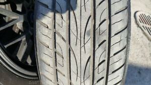 SUV RIMS AND TIRES FOR SALE *** NEGOTIABLE***