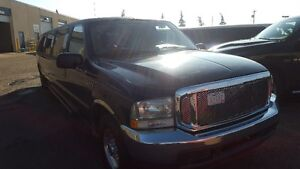 2002 Ford Excursion SUV, Stretch Limousine