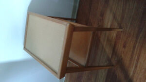 side table with one shelf