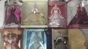 Holiday Collectible Barbies Windsor Region Ontario image 1