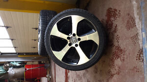 OEM Austen rims and winter tires 18 inches