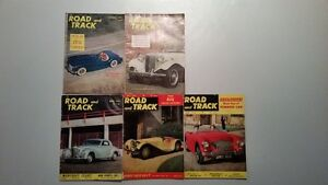 1953 Road and Track Magazine Incomplete Year