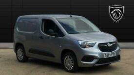 2019 Vauxhall COMBO CARGO Combo L1 Diesel 2000 1.5 Turbo D 75ps H1 Sportive Van