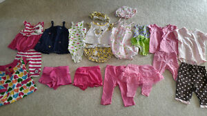 3-6 months girl's summer clothes