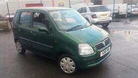 2001 Y VAUXHALL AGILA 1.2 16V.NICE EXAMPLE.GREAT RUNNER.12 MONTHS MOT.PX WELCOME