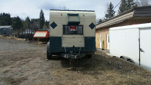 trailer with camper