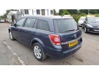 2008 Vauxhall Astra Estate 1.6 16V 115 Design Petrol blue Manual