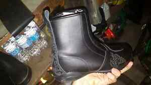 Joe rocket ladies boots size 10