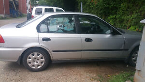1999 Honda Civic Air clim demarreur a distance