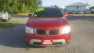 PONTIAC TORRENT SUV ** LOADED / SUNROOF ** EASY FINANCING $5995