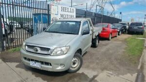 2005 Toyota Hilux GGN15R SR Silver 5 Speed Automatic Cab Chassis Ravenhall Melton Area Preview