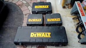 dewalt power tool cases